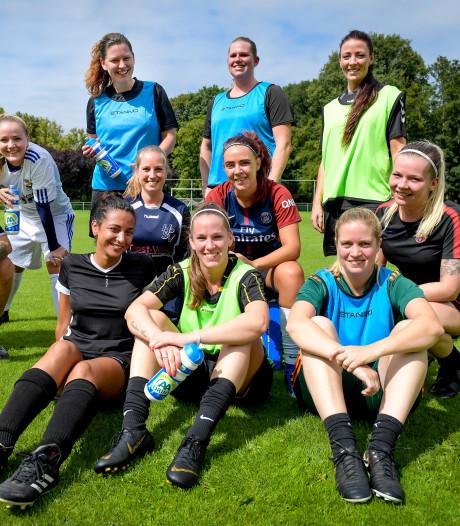 Bij jubilerend HPSV tellen de voetballende vrouwen dubbel en dwars mee: 'We gaan voor vliegende start'