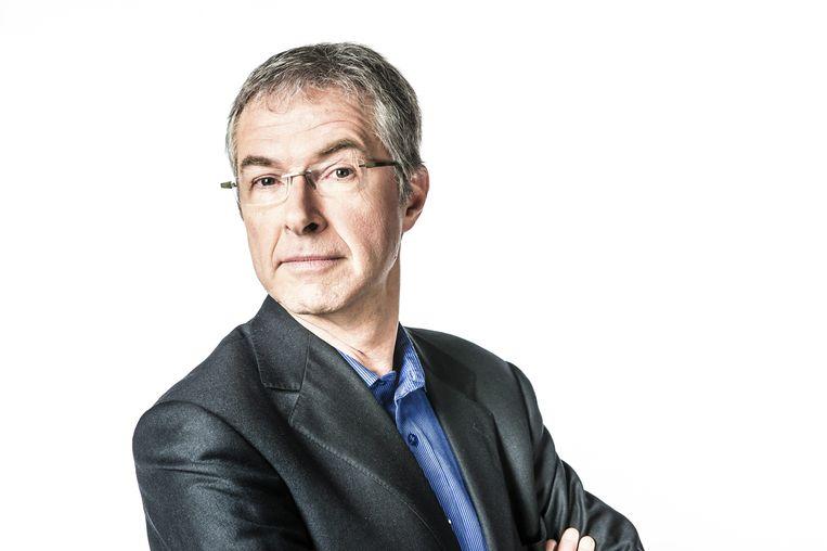 Jan Hautekiet: 'Uiteindelijk maak je radio met je persoonlijkheid.' Beeld rv vrt
