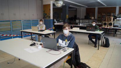 """VTI Tielt start praktijklessen op met 34 laatstejaarsstudenten: """"Dit wordt geen verloren generatie"""""""