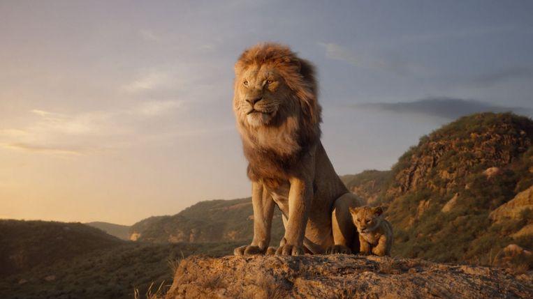 The Lion King was in 2019 de best bezochte film in de Nederlandse bioscopen. Er werden 3 miljoen kaartjes verkocht. Beeld Disney