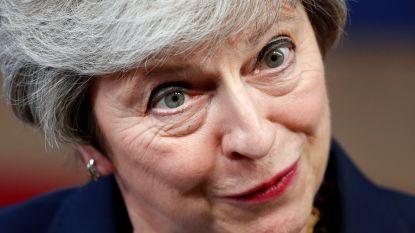 De doodstrijd van Theresa May in 10 grimassen