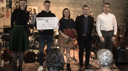 Jeugdharmonie Orbis Musicana wint Meerhoutse cultuurprijs