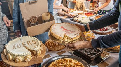 IN BEELD. Originele 'cake in een bidon' wint taartenwedstrijd KOERS