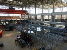 Glazen Zaal in opbouw: zo komt de 'parel van de LocHal' er uit te zien