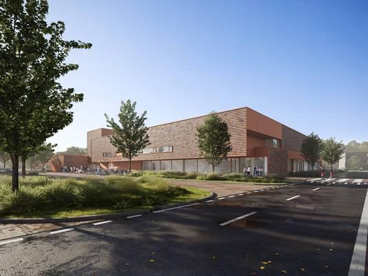 Impressie: Zo komt het nieuwe binnensportcomplex van Zaltbommel eruit te zien. Zowel het zwembad als de sporthal zijn geschikt voor wedstrijden op topsportniveau.