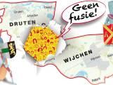 Gemeenten Druten en Wijchen namen niet genoeg tijd voor de fusie