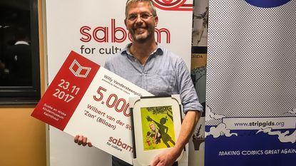 Nederlandse tekenaar Wilbert Van der Steen wint Vandersteenprijs