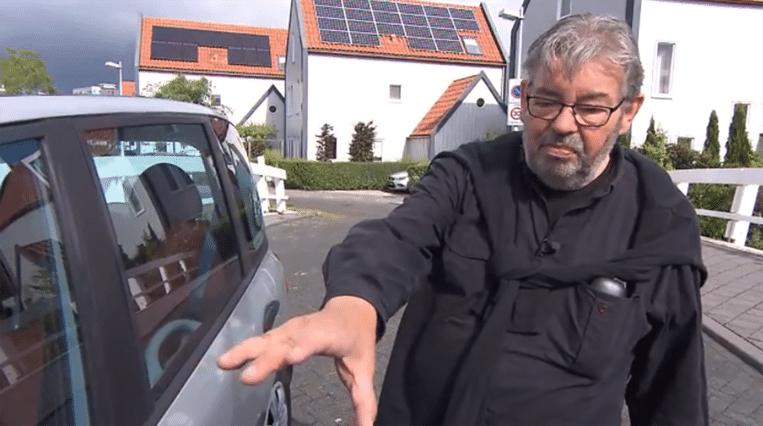 Maarten van Rossem. Beeld Screenshot RTL Autovisie