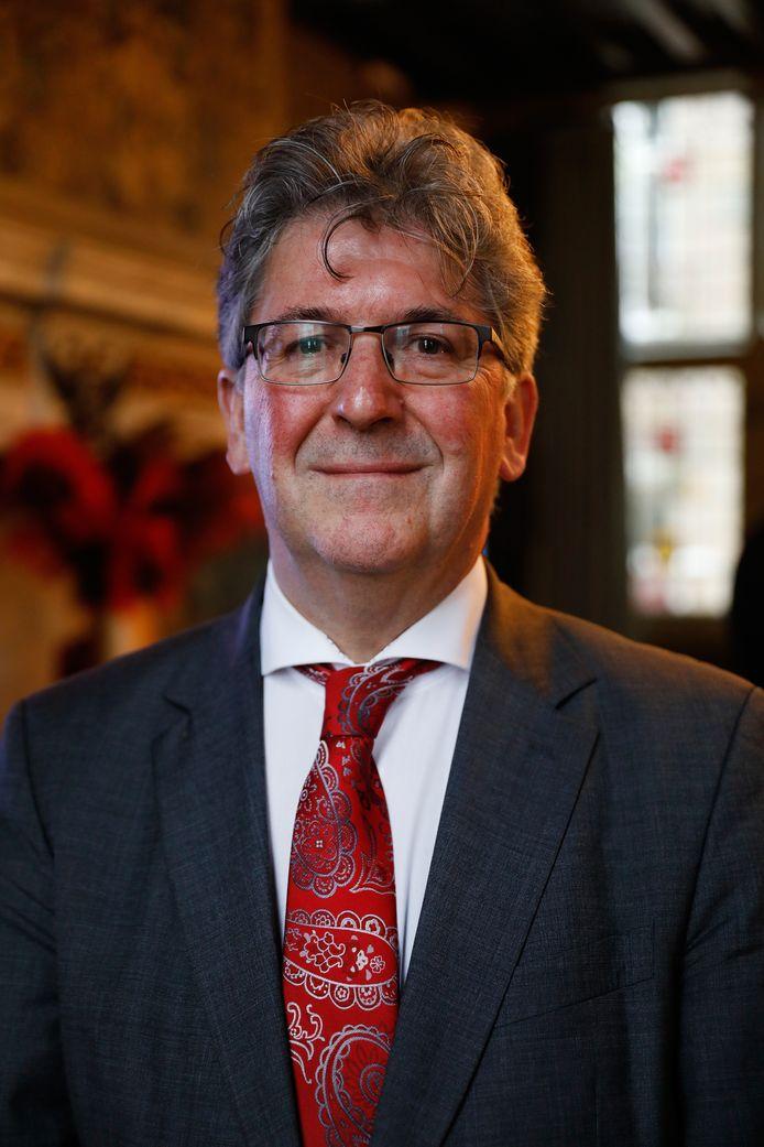 De Maassluise burgemeester Edo Haan.