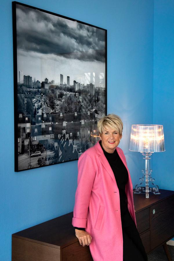 Angela Pijnenburg, bestuurder van Wooninc, werkt al ruim 33 jaar bij de woningcorporatie.