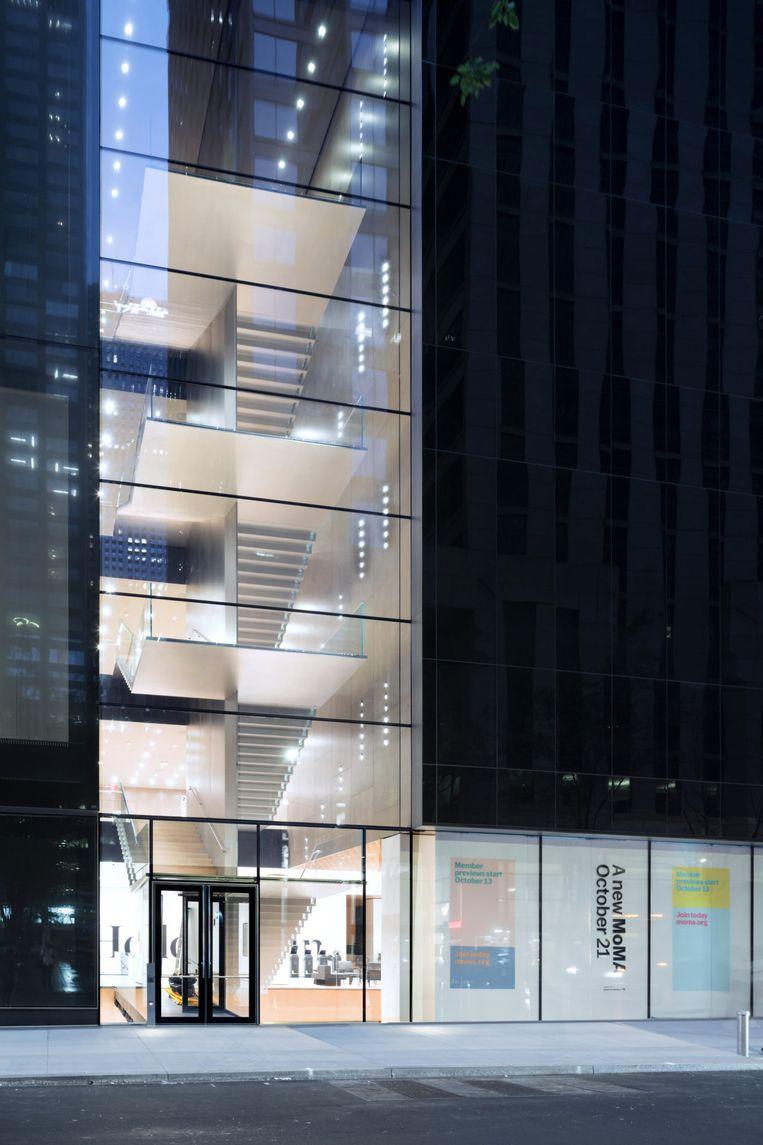 Het gerenoveerde Museum of Modern Art in New York. Beeld Iwan Baan