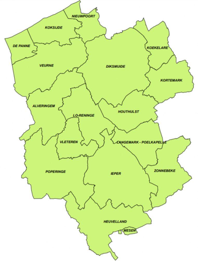 In al deze gemeenten kan een project worden opgestart.