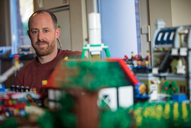 Maarten Verlinden uit Heusden-Zolder bouwde het jaaroverzicht 2019 na in LEGO.