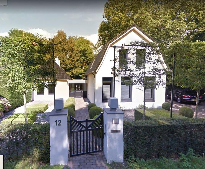 Het huis aan de Docfalaan dat door de gemeente wordt aangekocht.