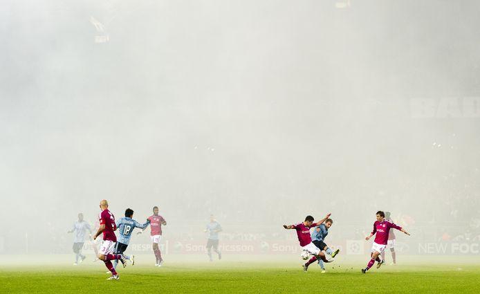Mistbeelden van Lyon - Ajax.