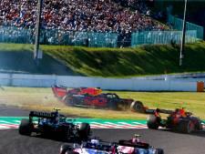 Dubbele tijdstraf voor Leclerc na botsing met Verstappen