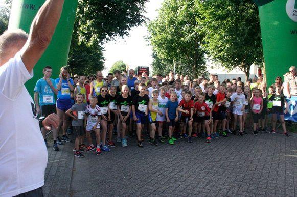 De start van een vorige editie van Dwars door Oud-Turnhout.