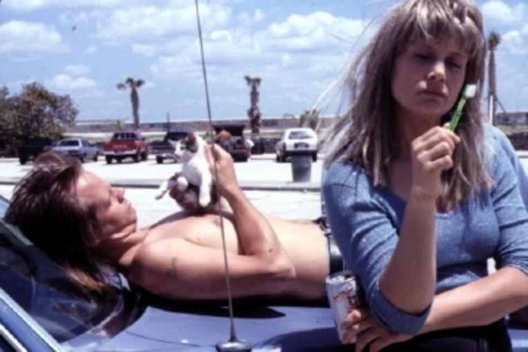 Lisa Bowman en Larry Fessenden in River of Grass Beeld -