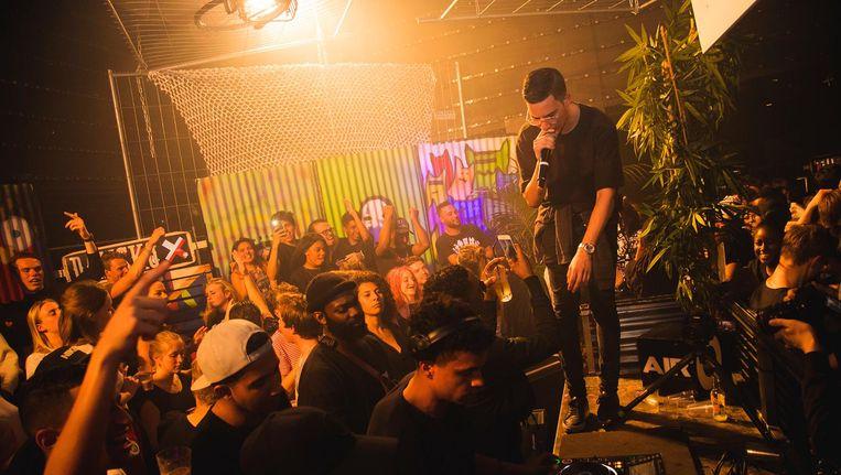 Tijdens Straight Outta Damsco hoor je Amsterdams hiphoptalent. Beeld Straight Outta Damsco