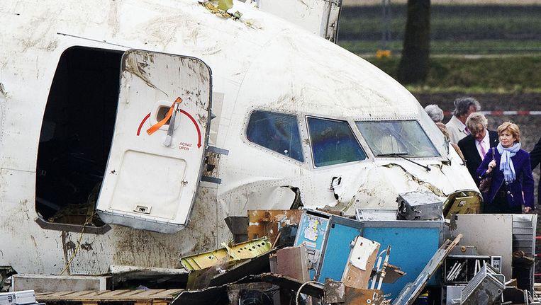 De crash van 2009. Beeld ANP