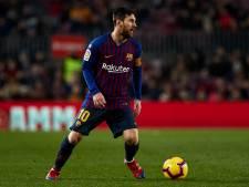 Messi niet in selectie voor bekerduel met Sevilla