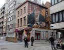 Streetart bij de Langestraat van kunstenaar Case Maclaim.