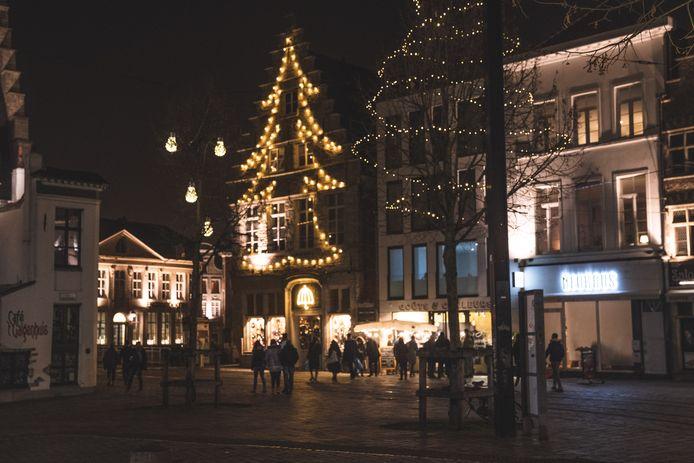 Kerstverlichting in Gent