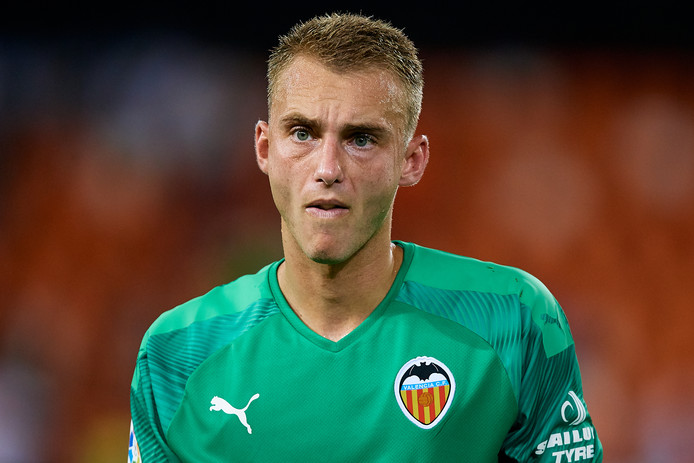 Jasper Cillessen, sinds deze zomer de doelman van Valencia.