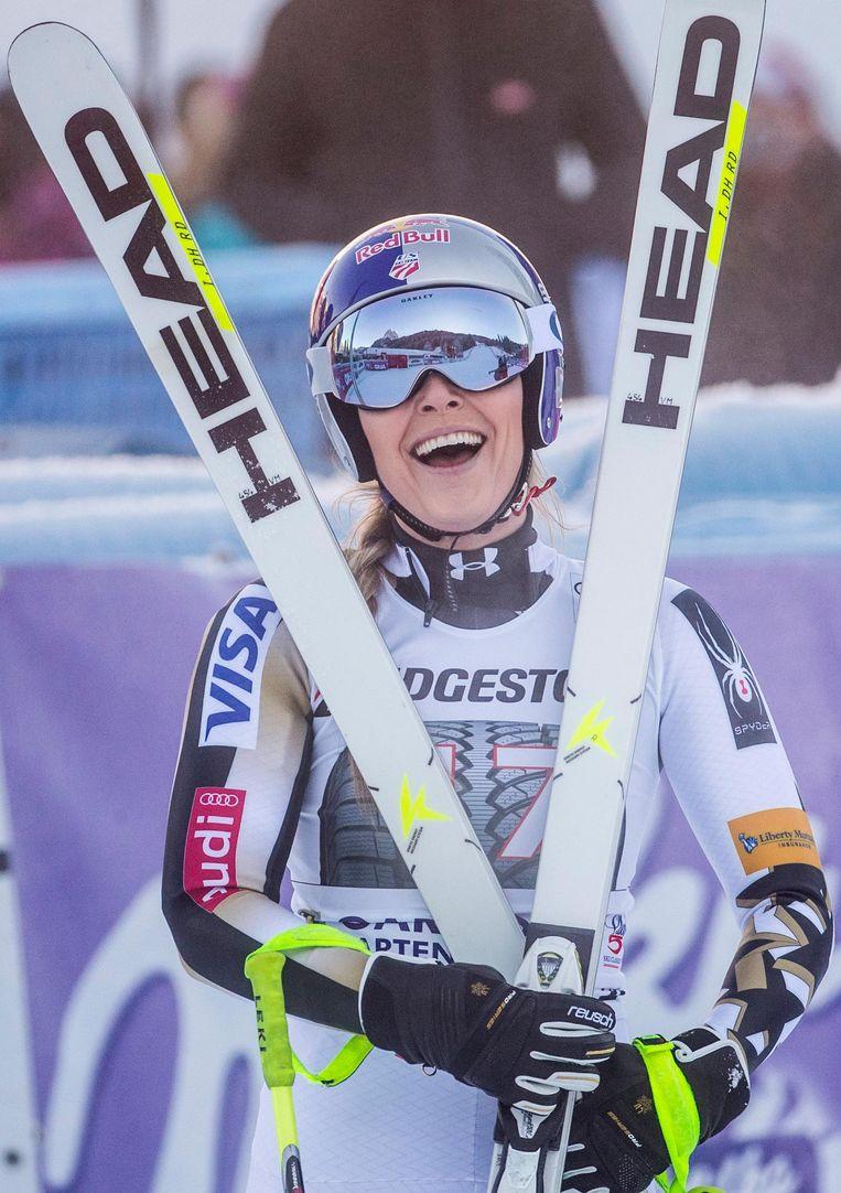 Amerikaanse skieër Lindsey Vonn. Beeld epa