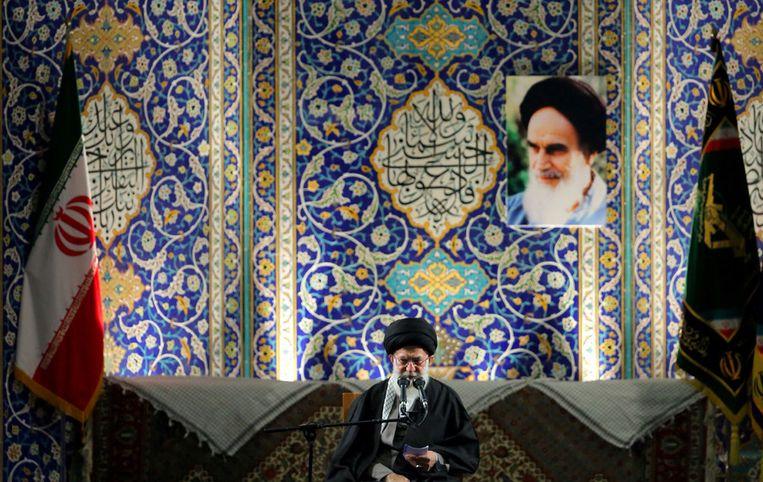 Ayatollah Ali Khamenei. Beeld afp