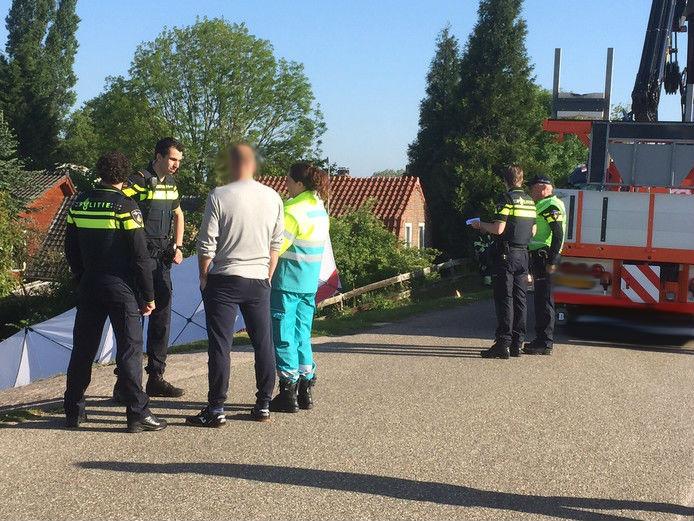 Het bedrijfsongeval in Hedel in 2015.
