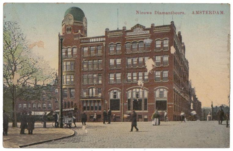 Het gebouw omstreeks 1918. Beeld Stadsarchief Amsterdam
