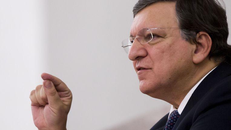 Commissie-voorzitter José Manuel Barroso.