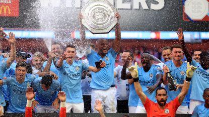 Agüero helpt City aan eerste trofee van het seizoen in Community Shield, Kompany valt in slotfase in