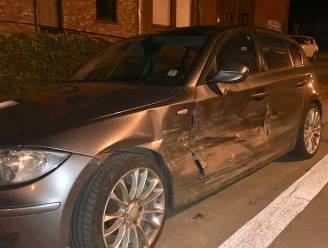 Automobilist vlucht na ongeval maar verliest nummerplaat