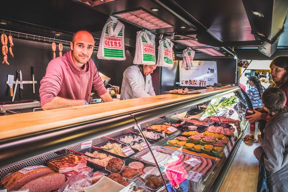 Anton Geers op de Vrijdagsmarkt
