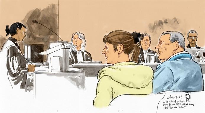 Linda H. (58) en Leonard den H. (63) worden verdacht van betrokkenheid bij de dood van de dochter van de vrouw.