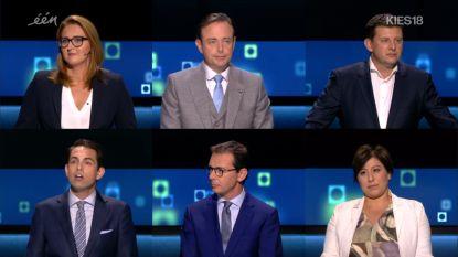 """Partijvoorzitters in de clinch tijdens laatste debat: """"Laat ons niet de dramaqueen uithangen"""""""