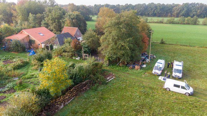 Een van de dronefoto's van Wilbert Bijzitter, gemaakt toen het luchtruim nog wel 'open' was.