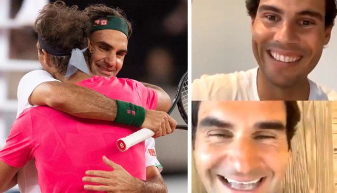 Roger Federer et Rafael Nadal, les retrouvailles sur Instagram