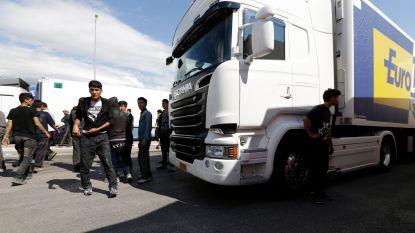 Griekse politie start grote operatie tegen illegale migrantenkampen in haven van Patras