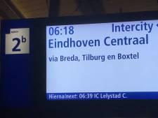 Het kan weer! Eerste intercity van Dordrecht naar Eindhoven vertrok vanmorgen om 06.18