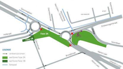Nieuwe verkeerssituatie op kruispunt Driekoningen