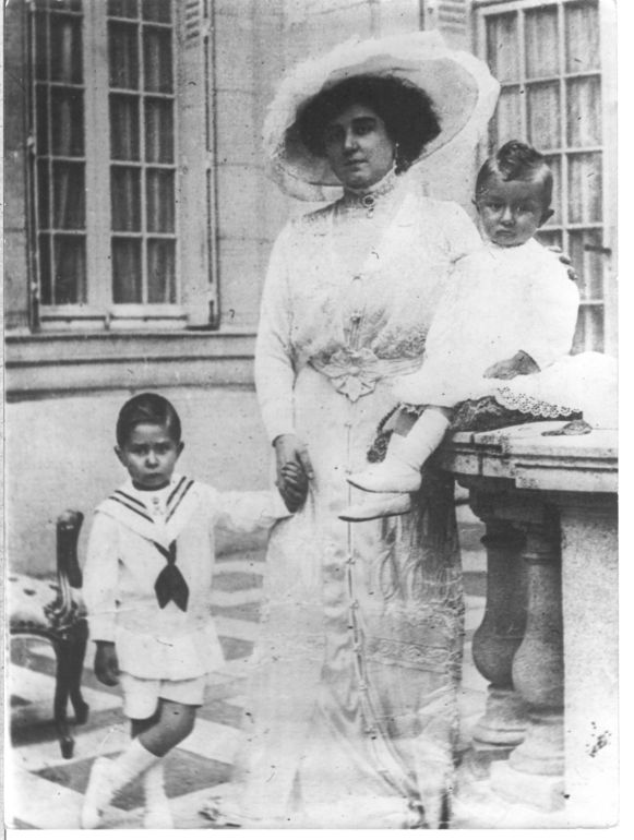 Op de foto: Blanche Delacroix, de laatste minnares van koning Leopold II