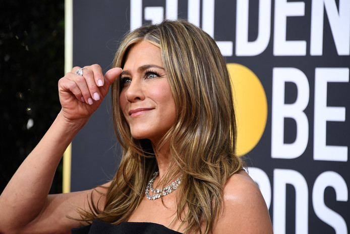 Het statement van Russel Crowe werd voorgelezen door Jennifer Aniston.