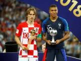 Modric wint Gouden Bal voor beste speler WK, Mbappé grootste talent