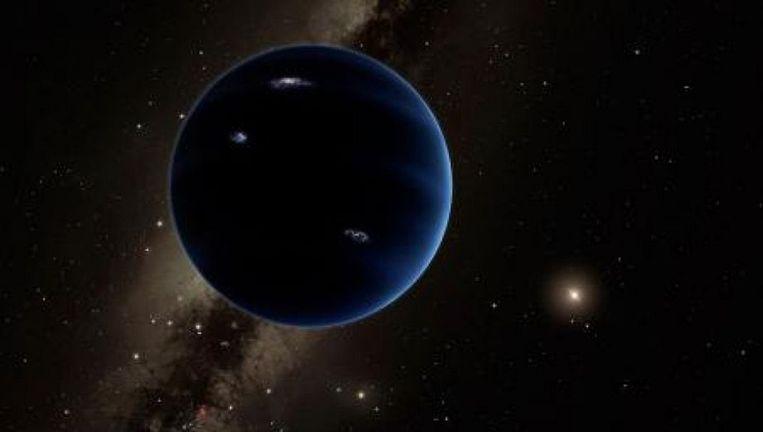 Een artist's impression van de planeet. Beeld