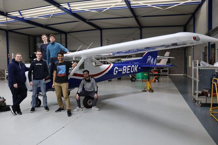 Falcon Electric, het studententeam van de TU Eindhoven.