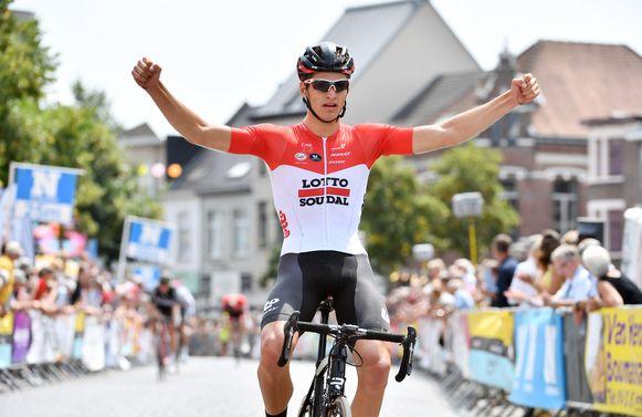 Brent Van Moer won vorig jaar de Grote Prijs Rik Van Looy.