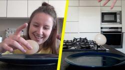 Kan je een ei als botsbal gebruiken? Ontdek het hier